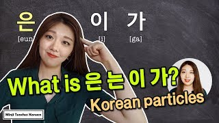 How to Use 은/는/이/가 ?! Korean Subject & Topic Markers