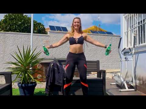 Full-Body Water Bottle Weight Circuit   Forto Fitness