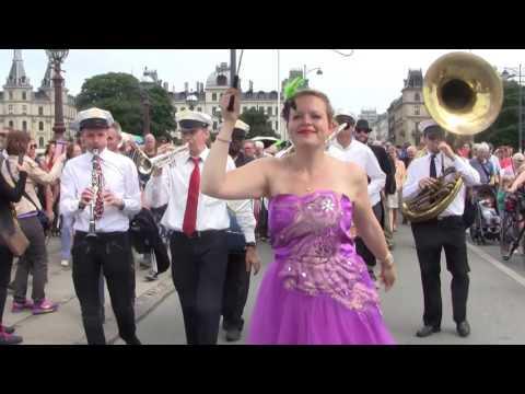 New Orleans Funeral Parade In Copenhagen Jazz Festival 2017 - 1/2