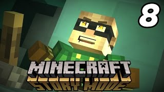 "Minecraft: Story Mode ""DEATH BOWL!"" Episode 2 Walkthrough (Part 2)"