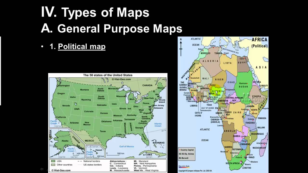 Types Of Maps Part YouTube - Pictures of maps