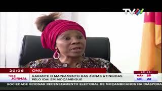 ONU garante o mapeamento das zonas atingidas pelo Idai em Moçambique