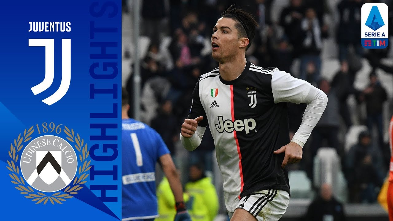 Juventus 3 1 Udinese Cr7 Scores Twice As Juve Go Top