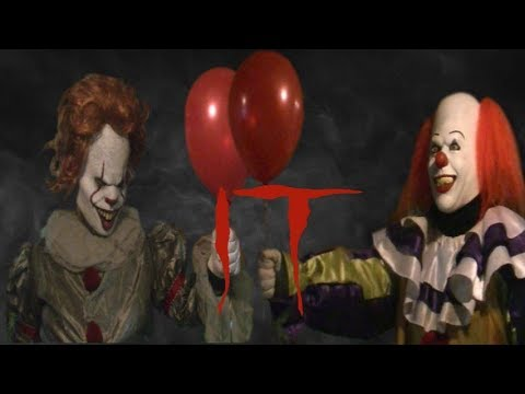 Old Pennywise vs  New Pennywise - It Meets Dancing Clown