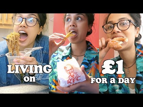 living on £1 for 24 hours and this is what happened.. | clic
