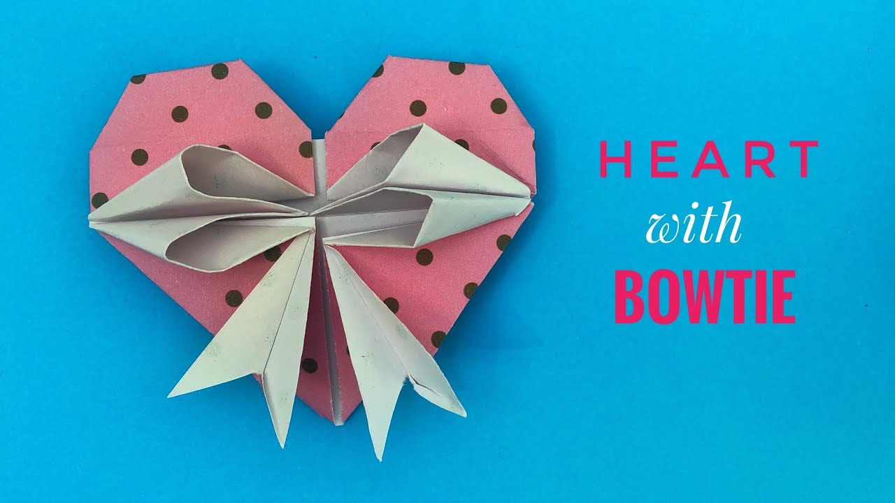 Heart ❤️ with Bowtie for Valentine's Day -1072