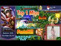 Mobile Legends: Miya Top 1 Build PentaKill | Miya Hyper Carry in Ranked - Savage Build