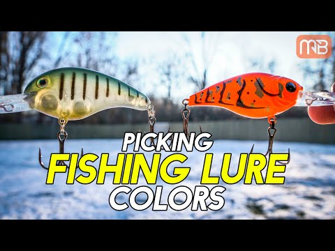 Fishing Lure Color Selection - Choosing The Best Color