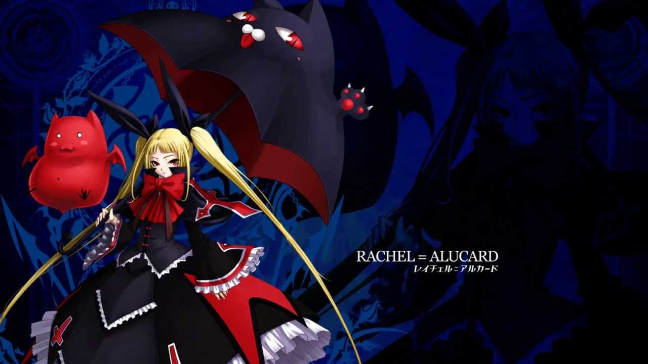 hd blazblue rachel alucard