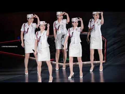 North Korean Moranbong Band: The World's Most Famous Songs (US, Brazil, Russia, France...)