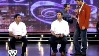 Showmatch 2011 - José María y Mariano, clavados por Tony Kamo