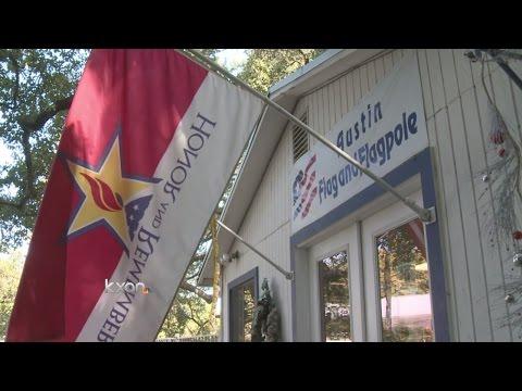 Austin Flag Shop A Busy Spot On Veterans Day