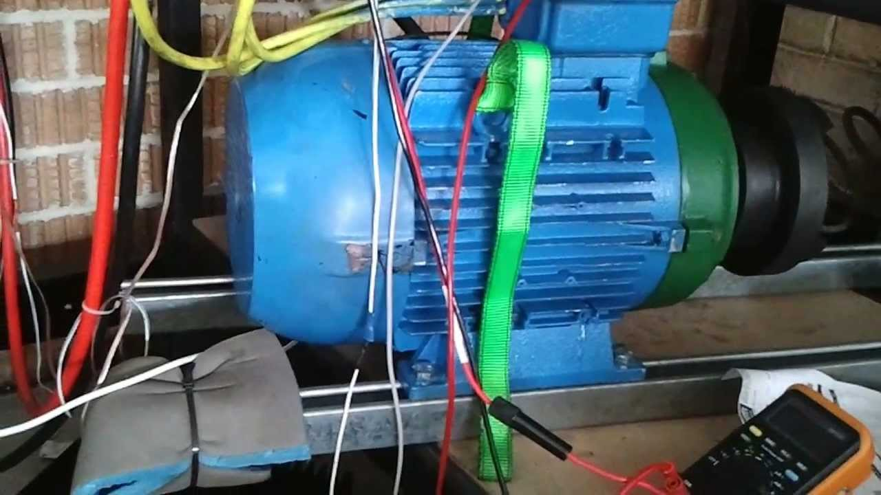 Quick Demonstration Of Mauswerkz 3 Phase Acim Controller For Ev Use Ac Motor Wiring Diagram