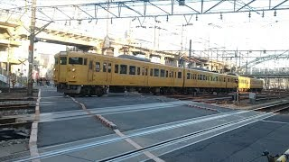 JR西日本 115系L編成&227系『Red wing』天神川〜広島