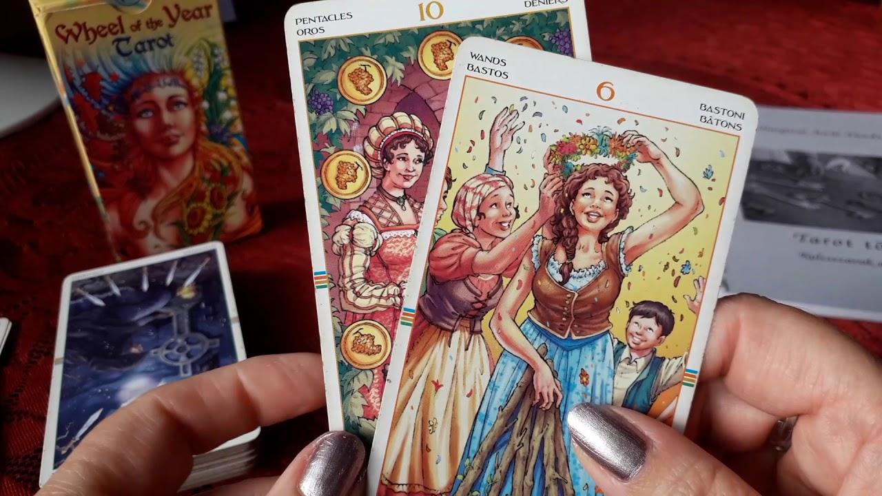 látás tarot kártyák
