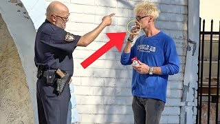 VANISHING MAGIC TRICK On ANGRY COP!!! (How To Prank The Police)