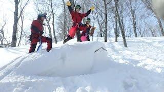 Snow Canyoning スノーキャニオニング
