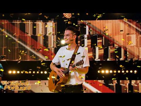 BOTÃO DOURADO! O Yasin Safa consquistou o jurado Manuel Moura dos Santos  Got Talent Portugal 2021