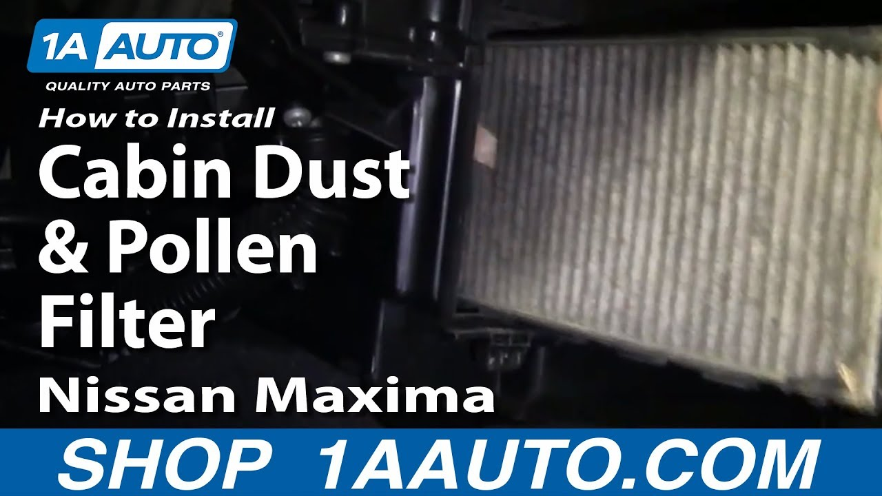 95 Nissan Pathfinder Cabin Filter Location Free Image About Wiring