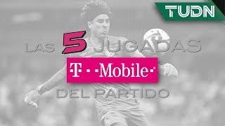 Las 5 mejores jugadas T - Mobile del partido | América vs Morelia | TUDN