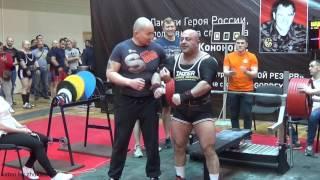 Эмин Мамедов, жим лежа, подходы 350, 380 и 400 кг, Кремлевский жим 2017