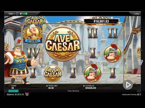 AVE CAESAR On PokerStars!Слот на ПокерСтарс