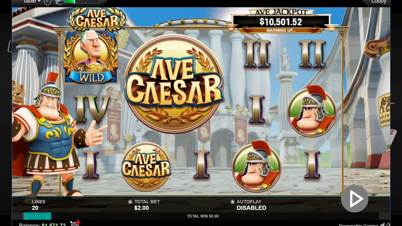 AVE CAESAR on PokerStars!Слот на ПокерСтарс