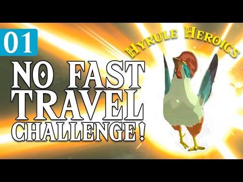 Zelda BOTW VS Skyrim - No Fast Travel Challenge - Hyrule Heroics