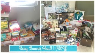 Baby Shower Haul! (Baby Boy) | totallyblushing