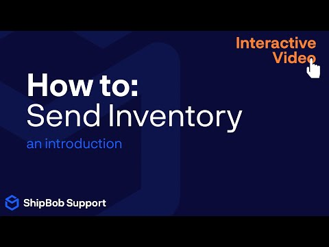 How to: Send Inventory (an introduction)