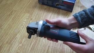 Подарок ТЕСТЮ Bosch GWS 850 CE Angle Grinder 5inch Vari-speed/регулировка оборотов, плавный запуск