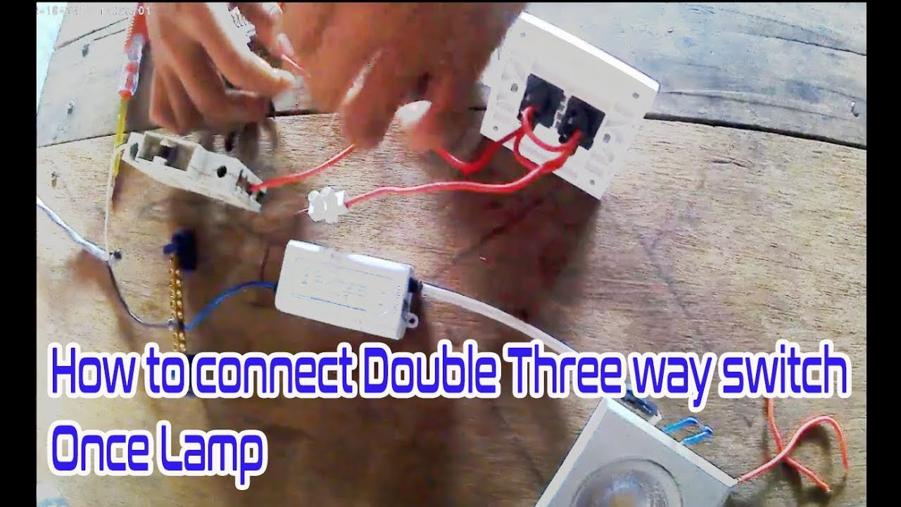 How to wire 3 way light switch at house |3 Way Switches Explained by practice