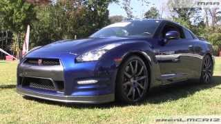 Blue Nissan GTR R35 - Driven by Purpose