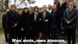 Mes amis, mes amours, mes emmerdes - extrait musique enterrement d