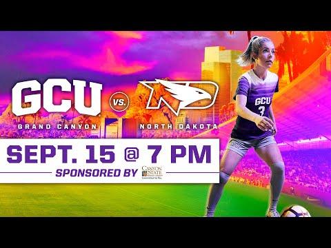 GCU Women's Soccer vs North Dakota September 15, 2019
