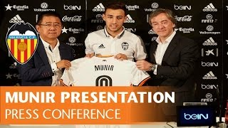 Gambar cover VALENCIA CF| Munir gives press conference before official presentation
