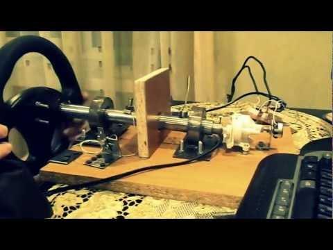 видео: Самодельный руль для компьютера