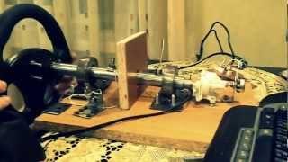 Самодельный руль для компьютера
