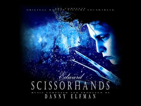 7. Ice Dance - Edward Scissorhands Soundtrack