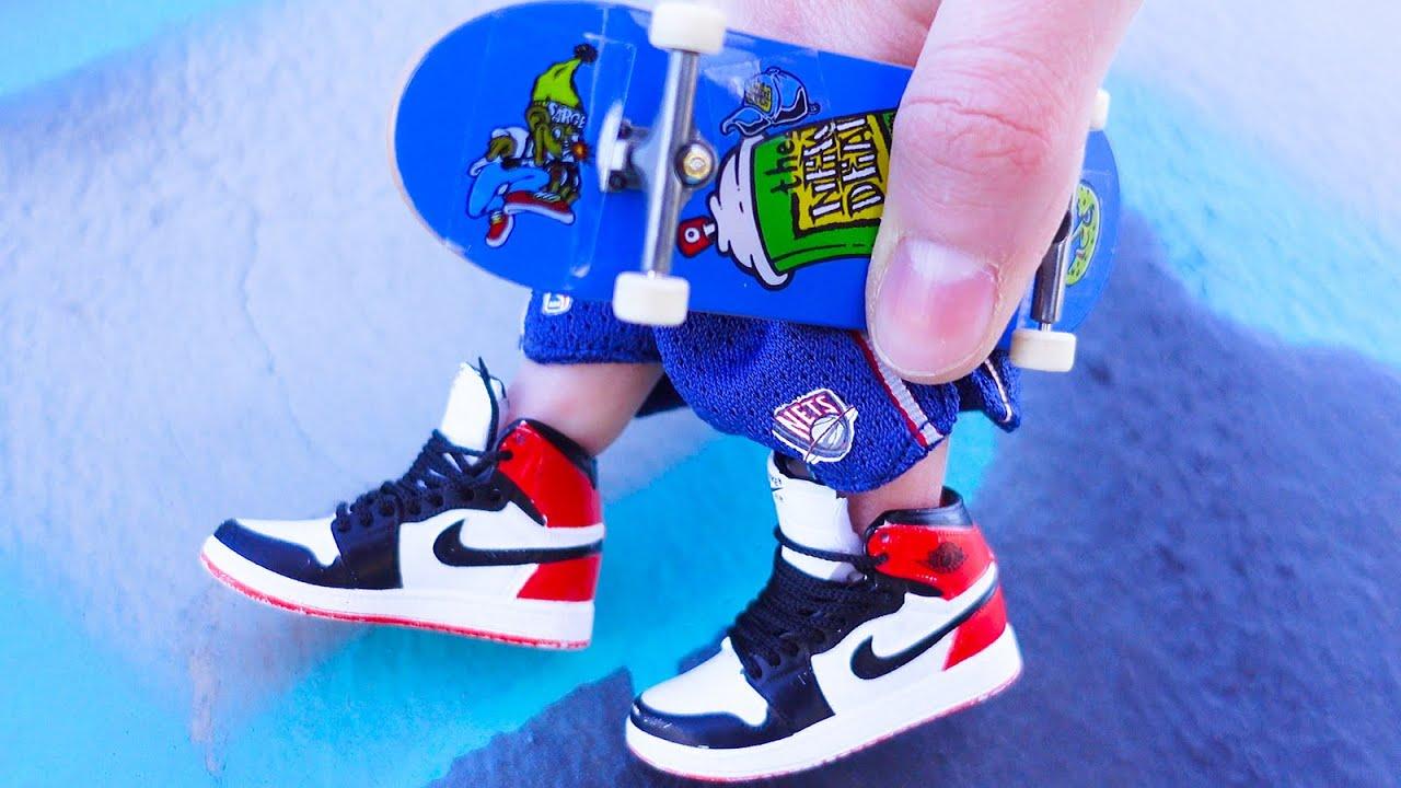 Finger Skateboard | Skatepark Tricks |Tech Deck | Finger shoes | Finger boarding | Finger dancing