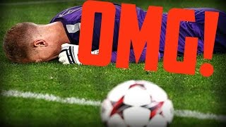 Top 10 Funniest Goalkeeper Mistakes, Moments and Fails in Football!
