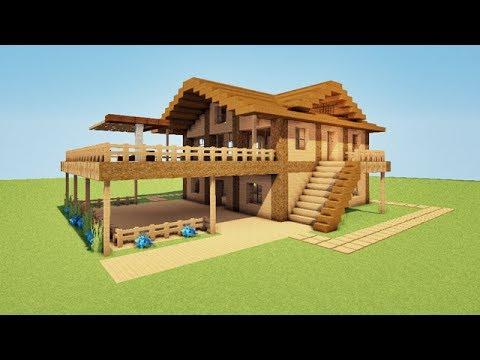 tuto maison de plage de luxe sur minecraft youtube