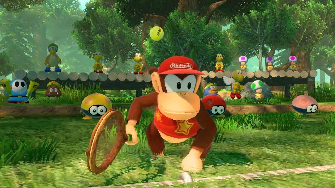 Mario Tennis Aces - Diddy Kong Trailer - Gamescom 2018