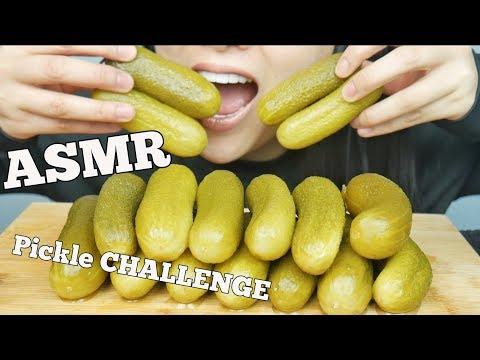 ASMR Pickle Challenge (ASMR Phan) EXTREME Crunch EATING SOUNDS   SAS-ASMR