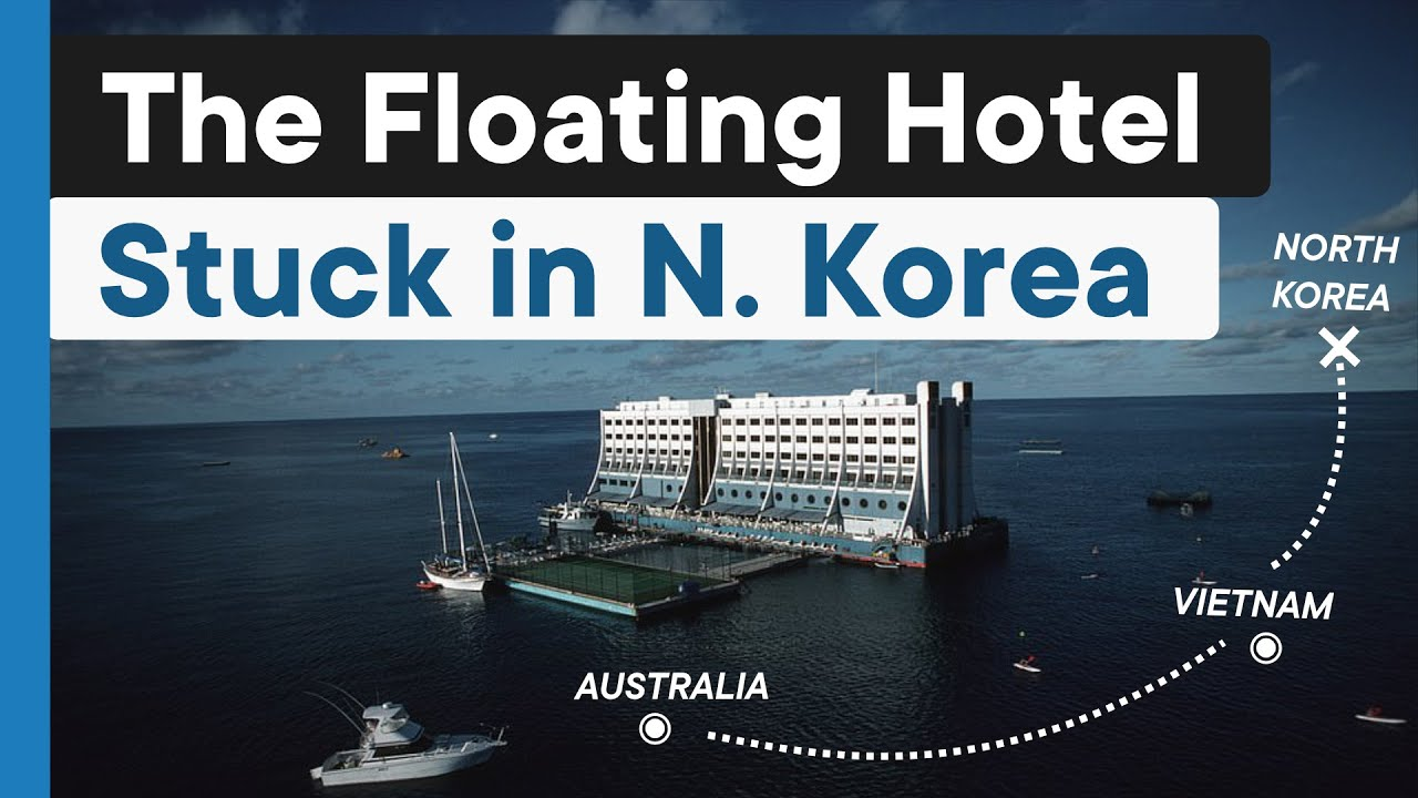 The World's First Floating Hotel Abandoned In North Korea - WATCH!