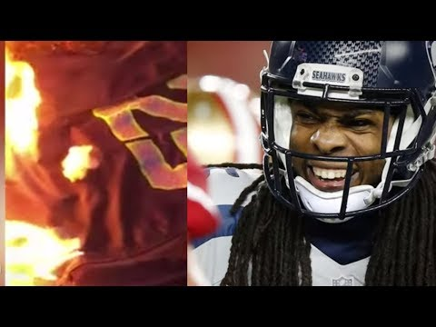 Richard Sherman's New Contract Has Seahawks Fans BURNING Jerseys!