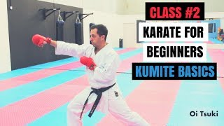 Martial Arts for Beginners – Lesson 1 Karate Fighting Basics