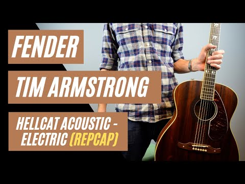 Fender Tim Armstrong Hellcat Acoustic-Electric Guitar Review by: Mike Lally {Recap}