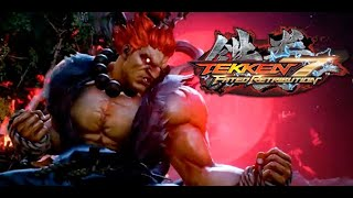 Tekken 7 gameplay con AKUMA