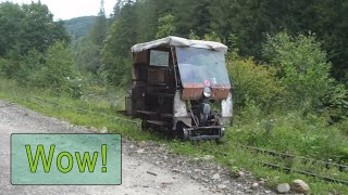 Amazing Carpathian railcars! Vygodskaya narrow-gauge railway
